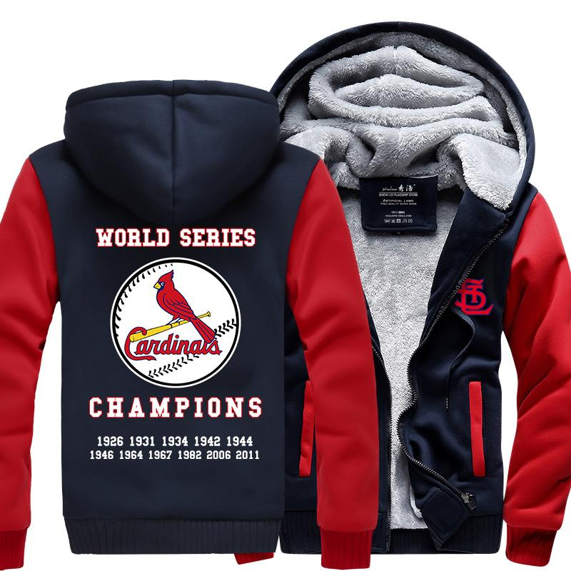 premium selection 10546 d9807 [50% OFF !!] EXCLUSIVE ST. LOUIS CARDINALS HOODIE JACKET (VARIANT I) - FREE  SHIPPING