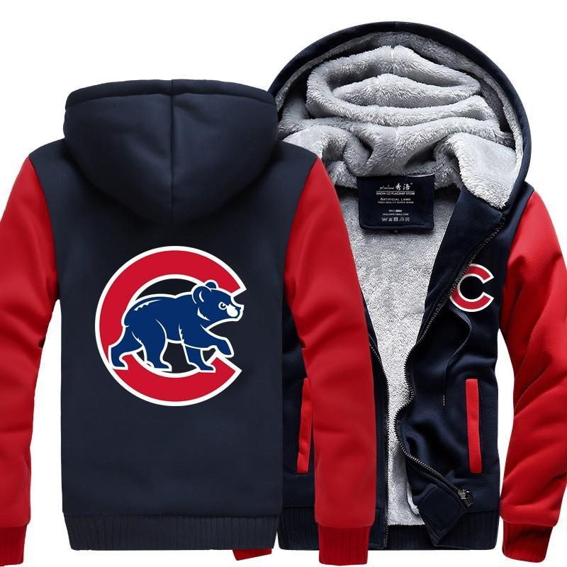 reputable site 2cfe4 a67c3 [50% OFF !!] EXCLUSIVE CHICAGO CUBS HOODIE JACKET - FREE SHIPPING