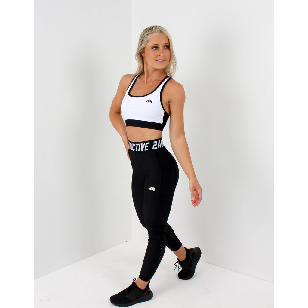 Atleta Series –  Black Leggings - 2 Addictive