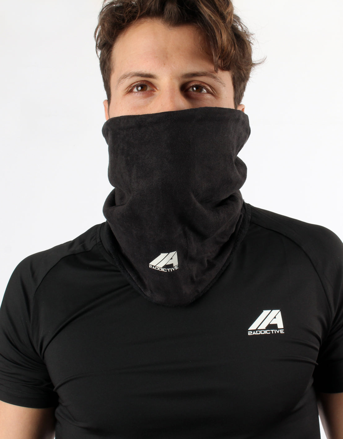 Neck Warmer - Black - 2 Addictive
