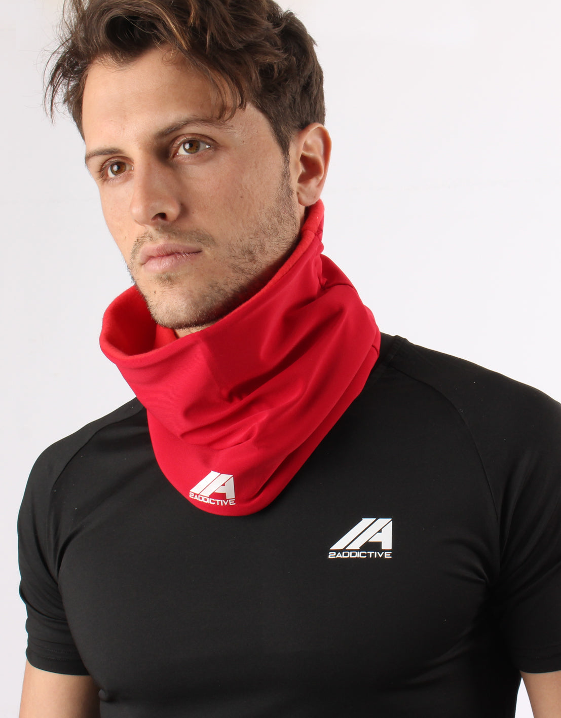 Neck Warmer - Red - 2 Addictive
