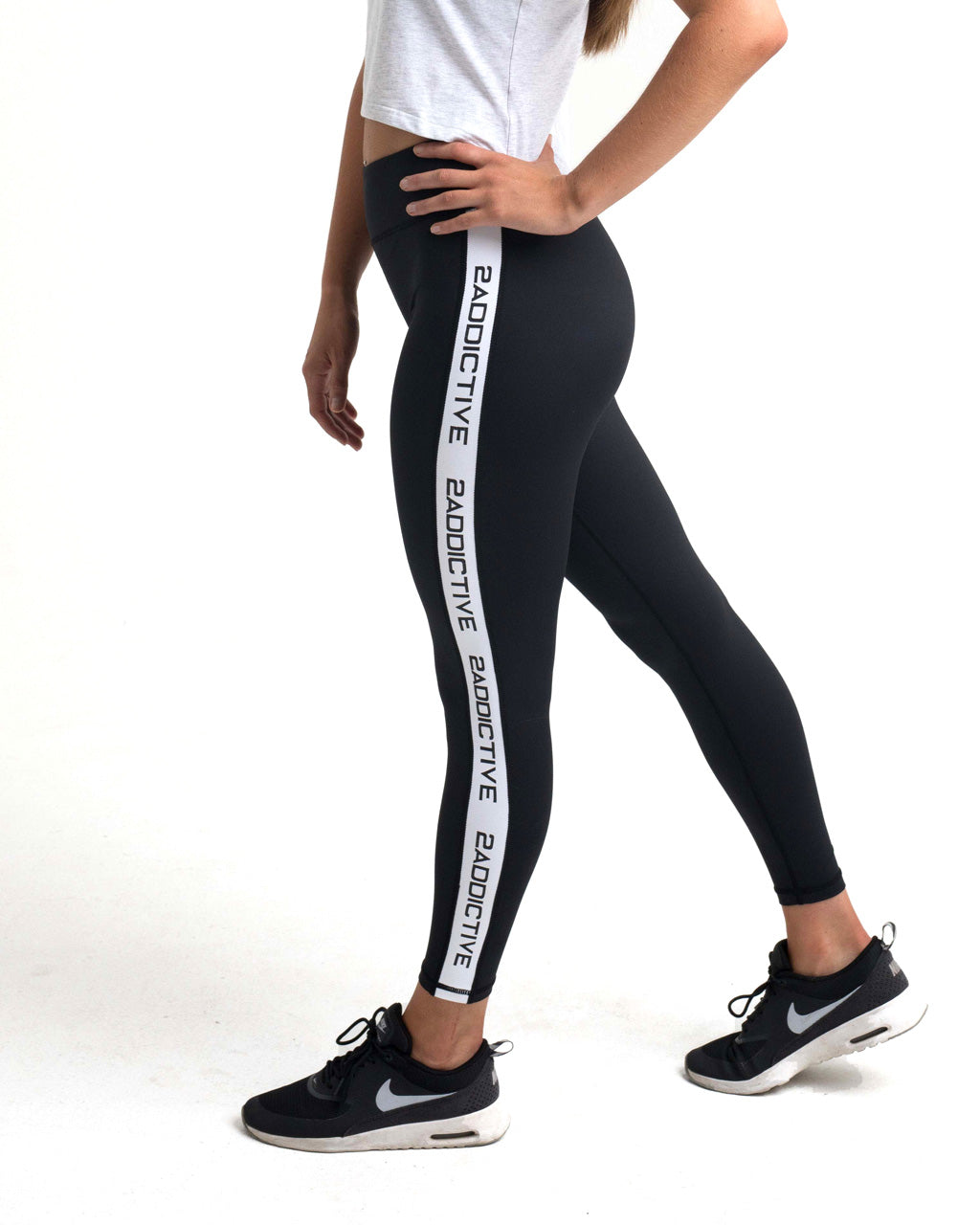 2Addictive Black Luxe Leggings - 2 Addictive