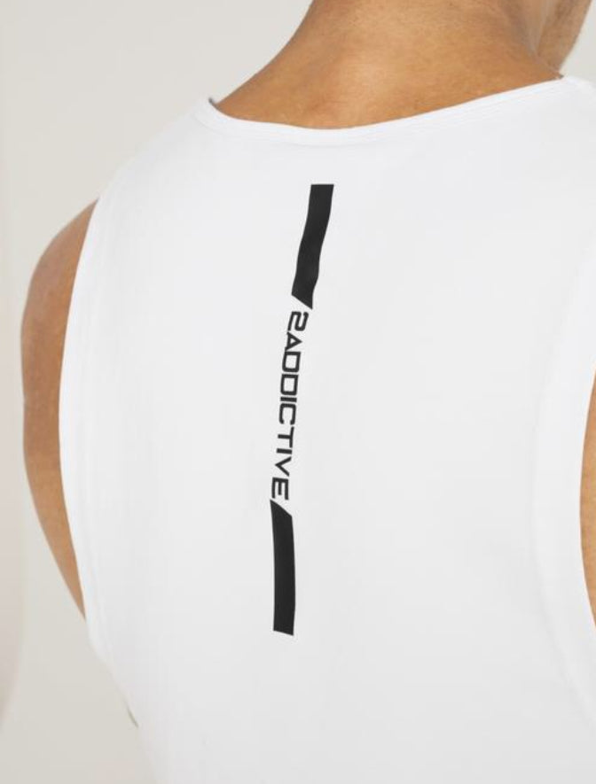 Hypa Singlet - White - 2 Addictive