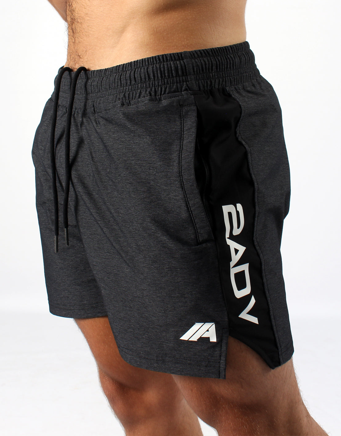 Elite Sport Shorts -  Grey - 2 Addictive