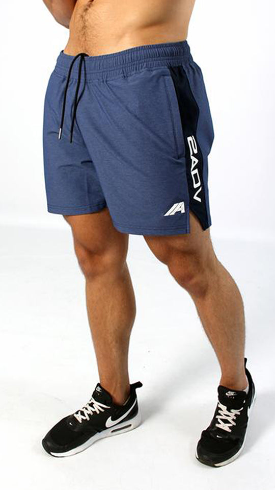 Elite Sport Shorts - Navy - 2 Addictive