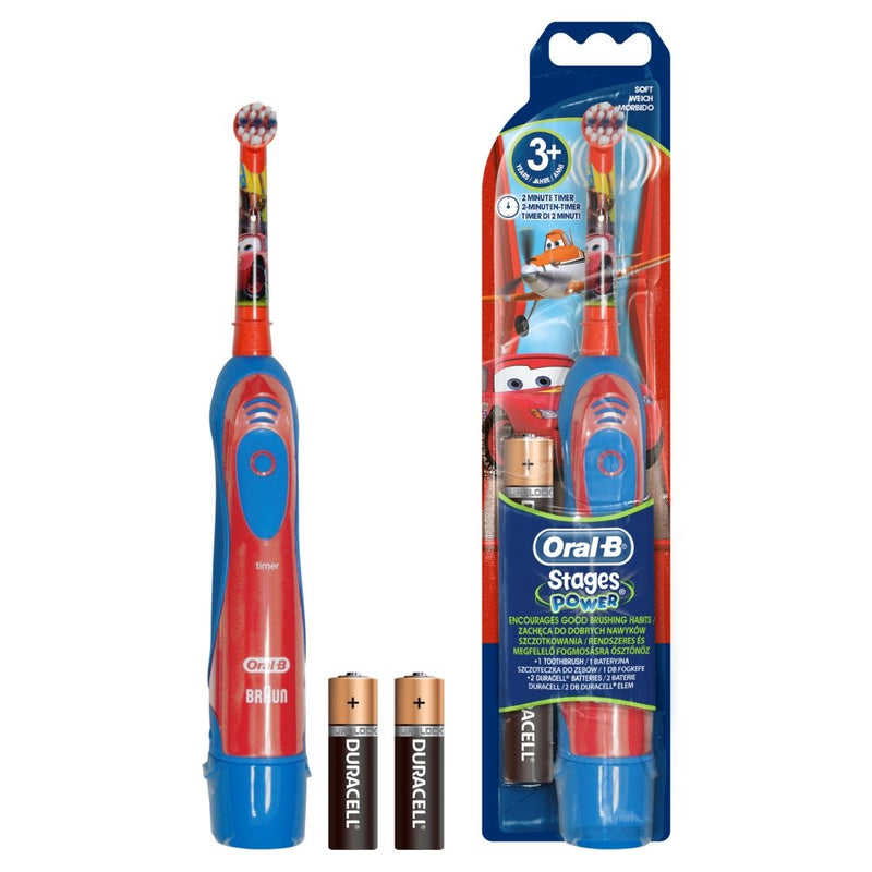 Oral-B Stages Power Disney Cars Battery Toothbrush for Kids