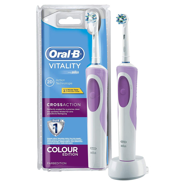 Oral-B Braun Vitality Electric Toothbrush - Color Edition Purple/Pink