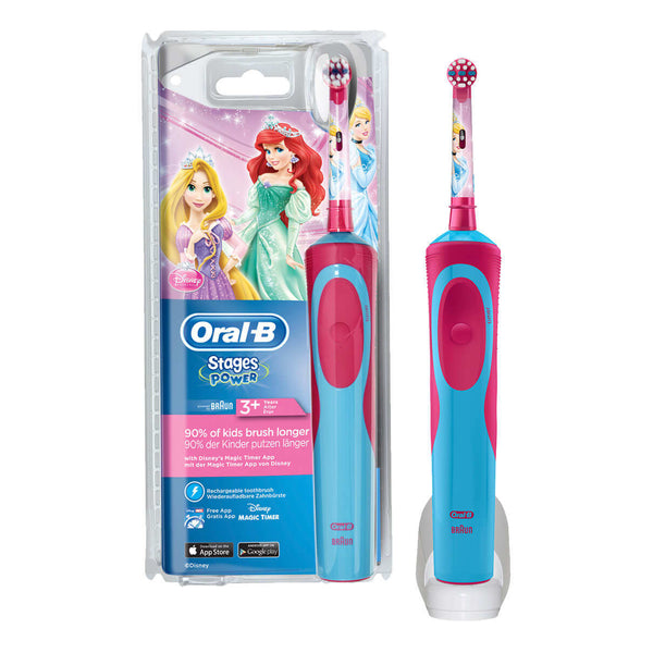 Oral-B Stages Power Disney Princesses Electric Toothbrush for Kids