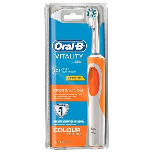 Oral-B Braun Vitality Cross Action Electric Toothbrush - Colour Edition