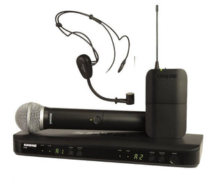 Shure BLX1288/P31 Dual Headset Handheld UHF Wireless Microphone System