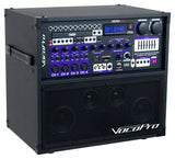 Vocopro HERO-REC-9 120W 4-Channel Multi-Format Portable P.A. System with Digital Recorder