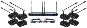 VOCOPRO DIGITAL-CONFERENCE-8 8 CH. UHF WIRELESS CONFERENCE MICROPHONE SYSTEM