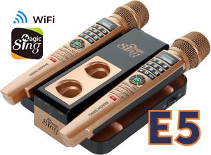 EnterMedia Magic Sing E5 WiFi Streaming Karaoke Mic