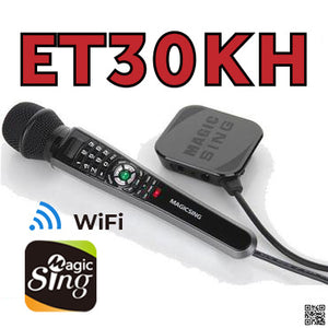 EnterMedia Magic Sing ET30KH WiFi Streaming karaoke Mic