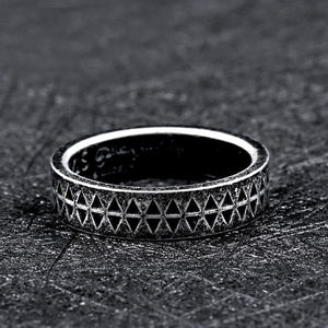 Steel Soldier Ring