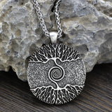 Tree of Life Viking Amulet