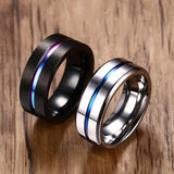 Titanium Cyclops Ring
