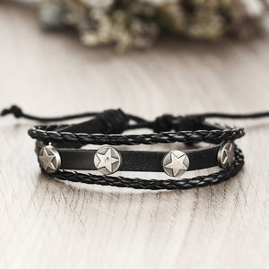 Handmade Multi-layer Punk Bracelet