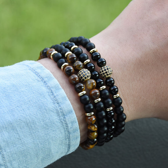 2pcs/set Premium Natural Stone Bracelets
