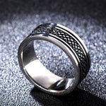 Load image into Gallery viewer, Tibetan Stainless Steel Ring