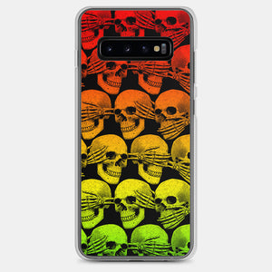 Didn't See, Hear or Say Shit Samsung Case (Rasta Version)