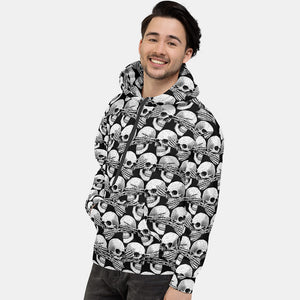Didn't See, Hear or Say Shit Hoodie