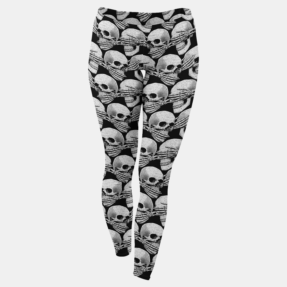 Didn't See, Hear or Say Shit Leggings