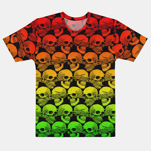 Didn't See, Hear or Say Shit Tee (Rasta Version)