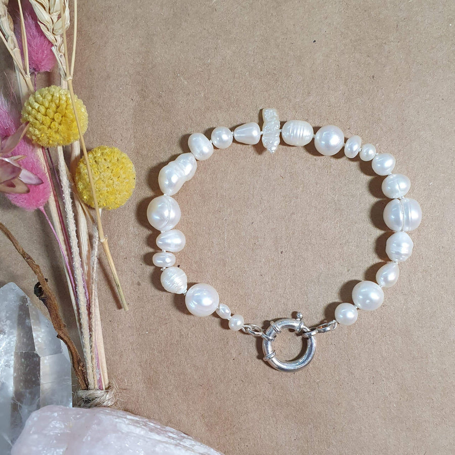 Mixed Pearl Bracelet