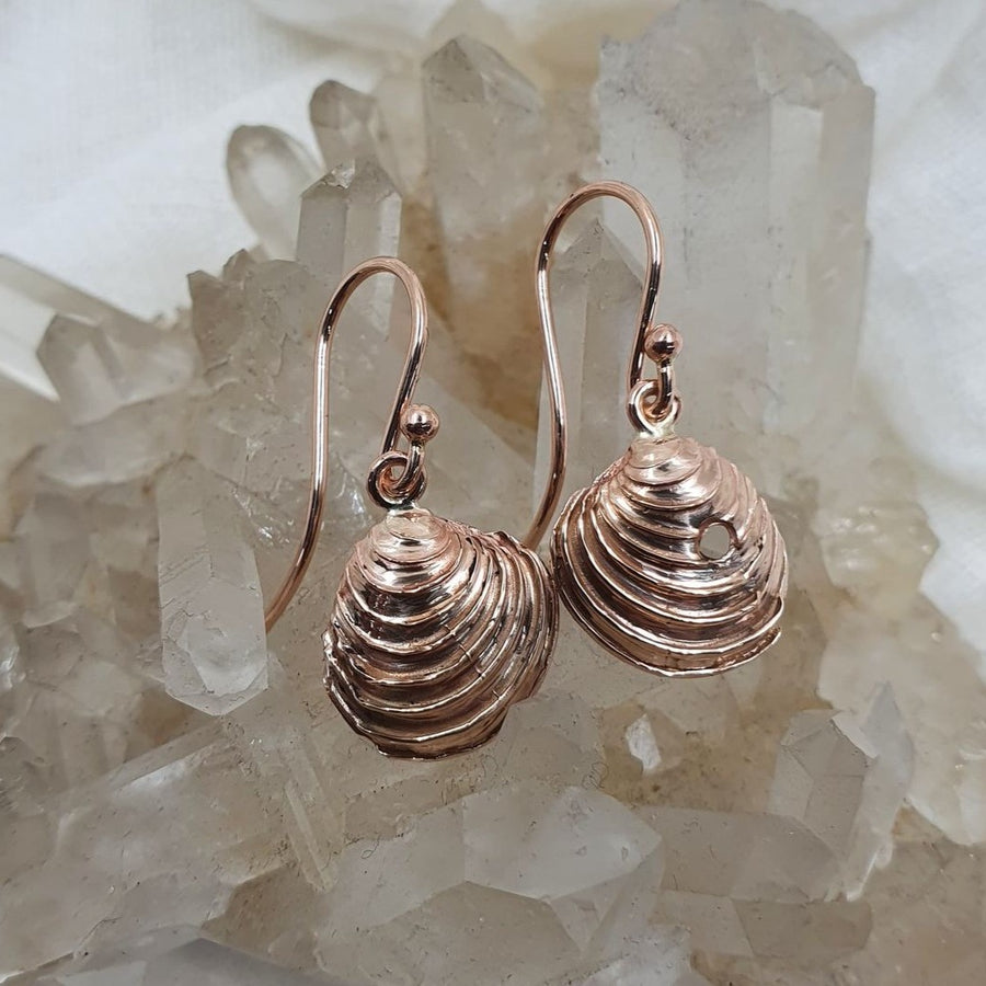 Rose Gold Venus Dangles