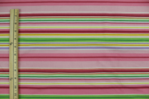 Colorful Stripes. Green, Pink, Red, Yellow, White, Lavender, Orange....
