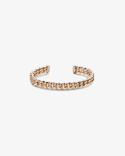Pink Gold Chain Bracelet