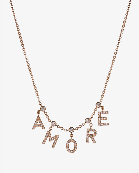 AMORE Golden Necklace
