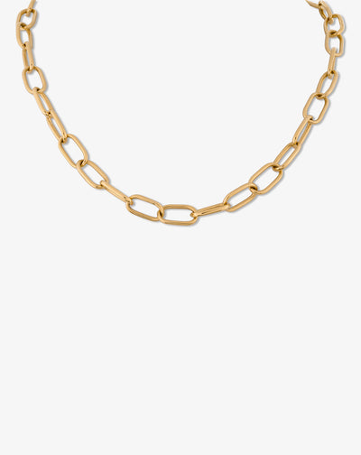 Chain Gold Necklace III