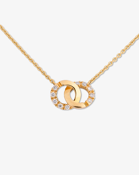 Necklace Union with Diamonds