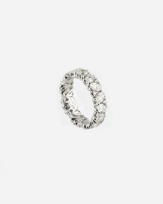 White Gold and Diamond Ring VII