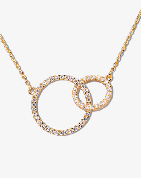 Alliance Necklace with Diamonds