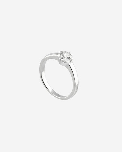 White Gold and Diamonds Ring II