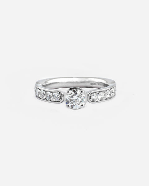 White Gold and Diamond Ring VIII
