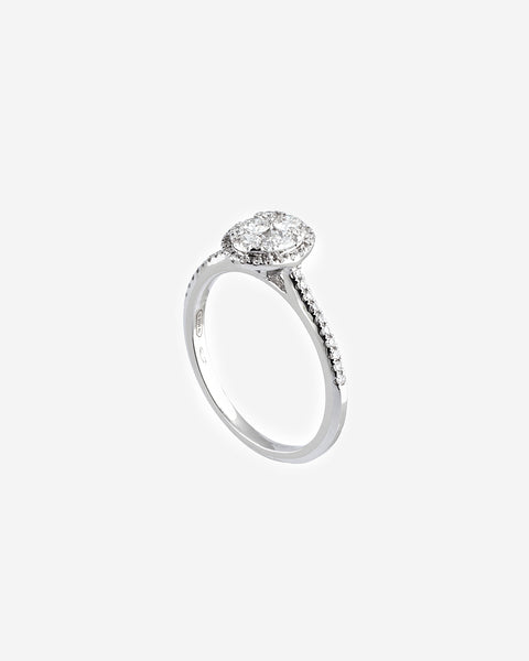 White Gold Diamond Ring IV