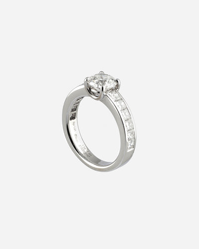 White Gold Diamond Ring III
