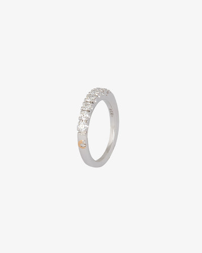 White Gold & VII Diamond Ring