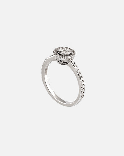White Gold and Diamond Ring XI