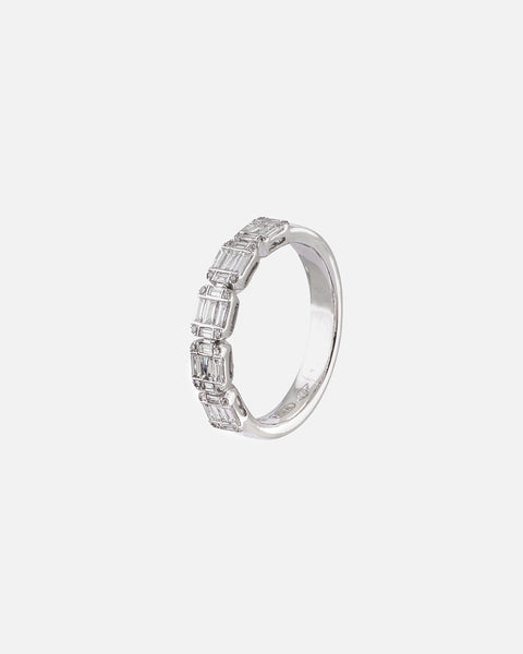 White Gold and Diamond Ring IV
