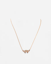 Gold Brown Diamond Necklace III