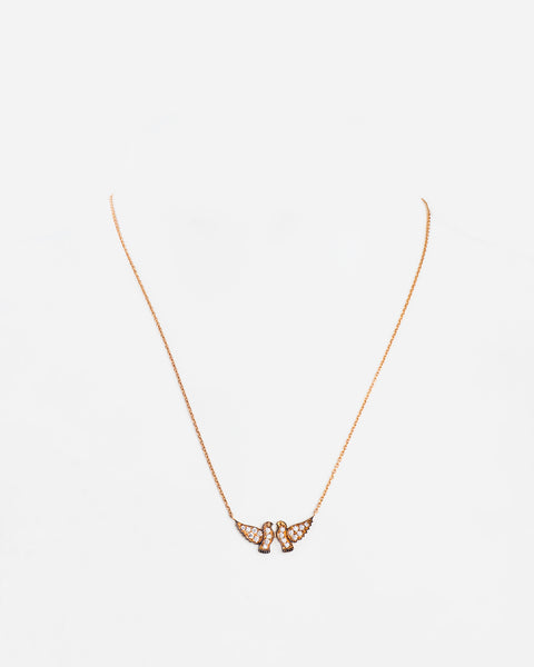 Brown Gold and Diamond Necklace III
