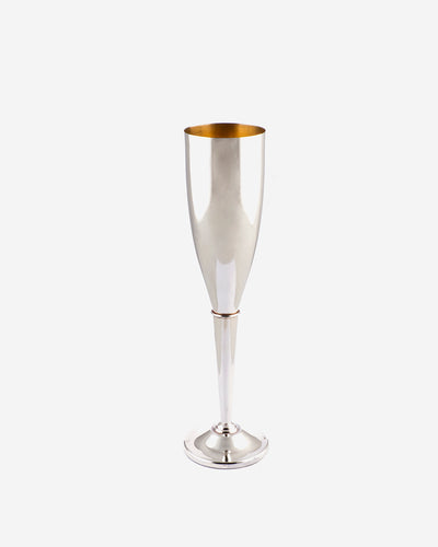 Champagne Glass in Silver
