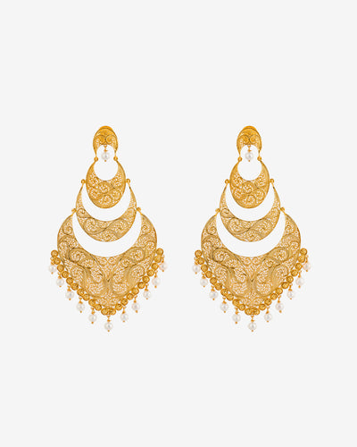 Filigree Earrings XII