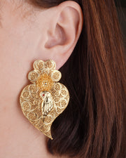 Filigree Owl Earrings I