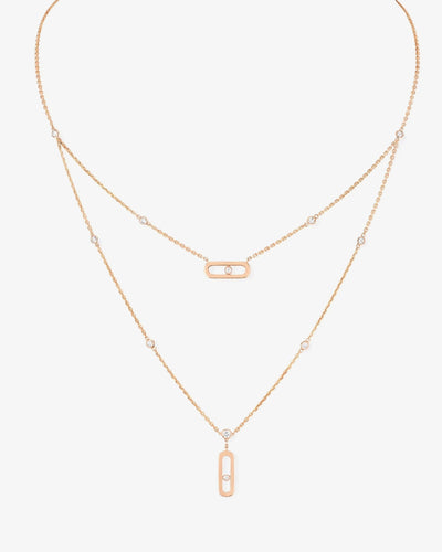 Messika Necklace - Pink Gold